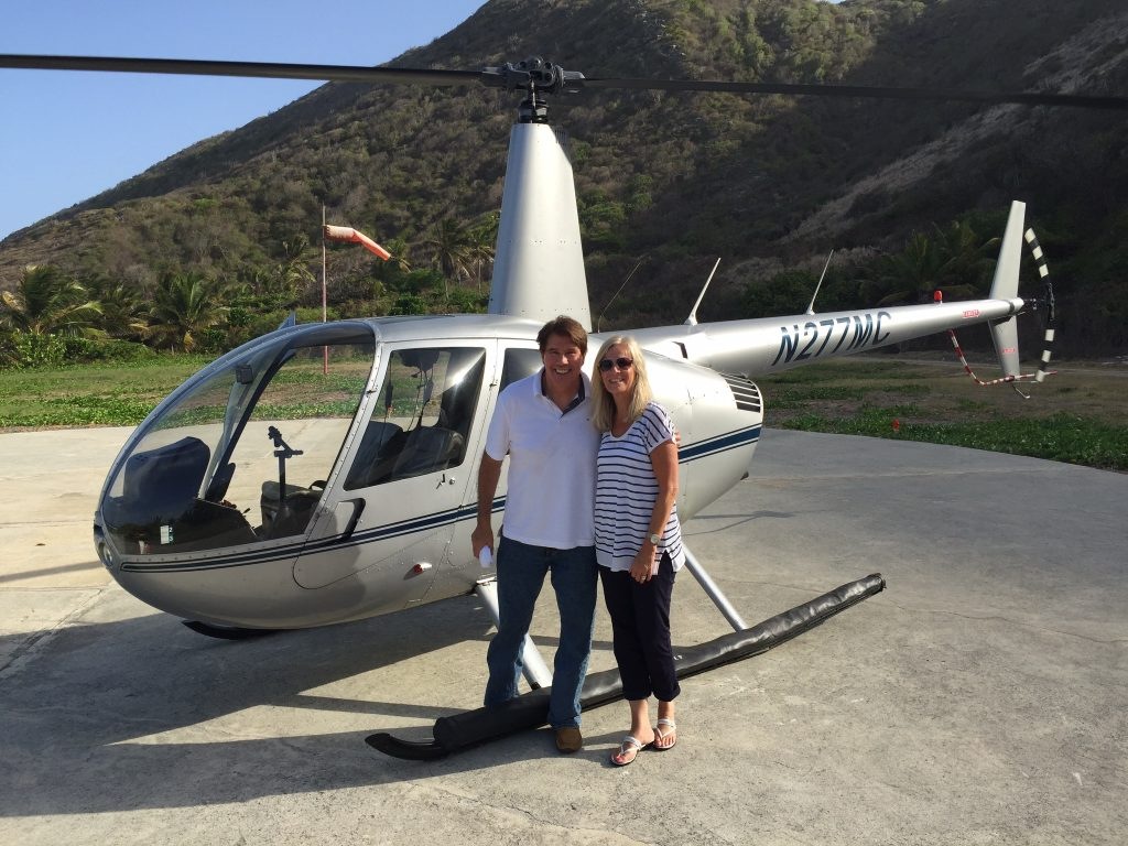 Bill and Sandy Hawkins Helicopter