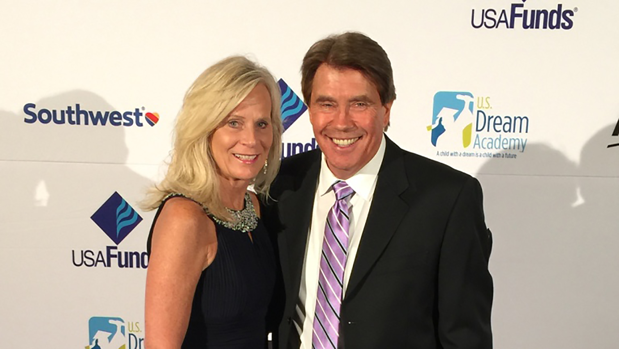 Bill and Sandy Hawkins Red Carpet